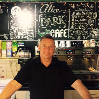 Alice Park Cafe in Larkhall England